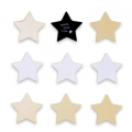 Twinkle Little Star 9pk Wooden Wall Plaques