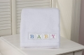 White Baby Boa Blanket