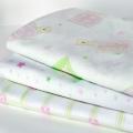 ABC123 Pink Flannette Wraps 3pk