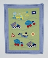 Construction Zone Cot Quilt