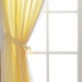 Twinkle Little Star Tab Top Curtains with Tie backs