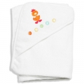 Barnyard Embroidered Hood Towel