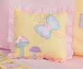 Gossamer Wings Throw Pillow