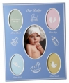 Our Baby Blue Collage Frame