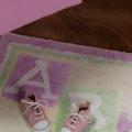 ABC123 Pink Floor Rug