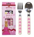 Bunnykins Sweethearts Spoon & Fork Set