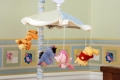 Winnie the Pooh Soft & Fuzzy Musical Mobile