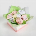 Baby Buds Playtime Bouquet - Marshmallow