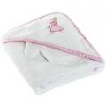 Princess Hooded Towel & Mitten Set