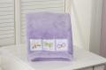 Lilac Baby Boa Blanket