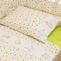 Splash 2pc Cot Sheet Set - Bubbles