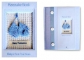 Keepsake Book - Blue Booties