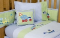 Construction Zone 3pc Sheet Set