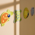 Splash 4 Pack Felt Wall Hangings