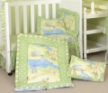 Bunny Brook Cot Quilt Set