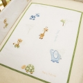 Baby Animals All Season Cot Quilt