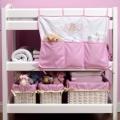 ABC123 Pink Nursery Organiser