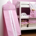 ABC123 Pink Nappy Stacker