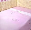 Princess Brushed Cotton Cot Blanket