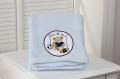 Powder Blue Baby Boa Blanket