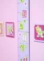 ABC123 Pink Height Chart