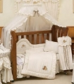 Twin Teddies Cot Halo Net