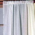 ABC123 Green Curtains with Tiebacks