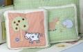 Barn Yard Throw Pillows