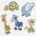 Baby Animals 5pk Wooden Wall Plaques