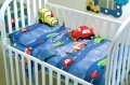 Traffic Cot Sheet Set
