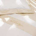 Heirloom Embroidered 3pc Cot Sheet Set