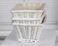 Kidsline Wicker Baskets - White