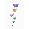 Five Butterflies Mobile