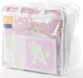 ABC123 Pink 12pc Nursery Set