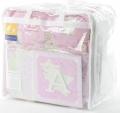 ABC123 Pink 12pc Nursery Set