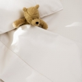 Heirloom All White 3pc Cot Sheet Set
