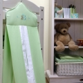 ABC123 Green Nappy Stacker