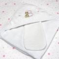 ABC123 Pink Hooded Towel & Bath Mitten