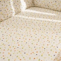 Splash Fitted Cot Sheet - Bubbles